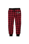 Youth and Adult Flannel Pant Jogger with Nitro Soccer Logo