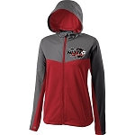 Ladies' Crossover Jacket with Nitro Soccer Logo Embroidered