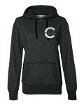 NJ Center of Dance Apparel - Glitter Flake Embroidered Hooded Sweatshirt