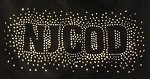 NJCOD Apparel - NJ Center of Dance Shorts with Rhinestone NJCOD