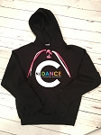 NJ Center of Dance Apparel - Lace up Hoodie