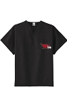Next Level Redbirds - Unisex V-Neck Scrub Top