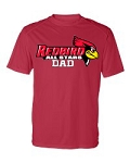Redbirds All Stars Dad - Performance Tee