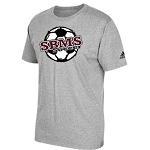 SBMS Soccer Apparel - Adidas Short Sleeve Logo T-Shirt