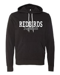 Redbirds Softball- REDBIRDS SOFTBALL DESIGN- Bella + Canvas - Unisex Hooded Pullover Sweatshirt