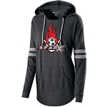 Sparx Apparel - Ladies Hooded Low Key Pullover with Logo
