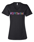 SPiTartist - Bella Canvas V-Neck Short Sleeve Tshirt - #SPiTartist