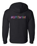 SPiTartist Apparel - Full Zip Hooded Sweatshirt - #SPiTARTIST