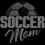 Sequins Soccer Mom Ladies Shirt