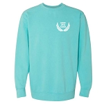 Buddy Love Merch - Comfort Colors Washed Crewneck Sweatshirt