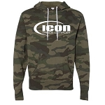 ICON - Camo Unisex Lightweight Hooded Sweatshirt