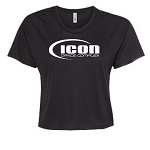 Icon Dance - Next Level - Festival Women's Cali Crop Tee
