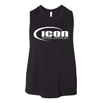 Icon Dance - Bella Canvas Women's Racerback Cropped Tank