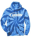 ICON DANCE - Tie Dye Hooded