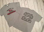 SBMS 8th Grade Graduation (Class of 22) Signature T-shirt- Property of Allentown Redbirds