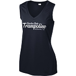 Garden State Apparel - Sport-Tek Ladies Sleeveless PosiCharge Competitor V-Neck Tee