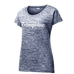 Garden State Apparel - Ladies Heather Sporty Tee
