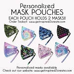 Personalized Mask Holder - IN STOCK!