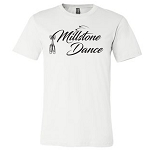 Millstone Dance - Bella Short Sleeve Tshirt with Logo