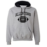 AHS Football Hooded Sweatshirt with Graduation Year