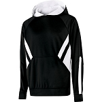 UFA Elite Argon by Holloway Dry Fit Hooded Sweatshirt with Logo