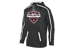 UFA Elite Stoked Tonal Dry Fit Hooded Sweatshirt with Logo