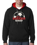 UFA Soccer Dad Hooded Sweatshirt
