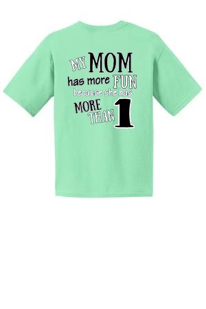 Central NJ Mother of Multiples T-shirt  - My Mom