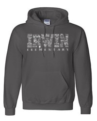 Irwin Elementary Charcoal Hooded Sweatshirt