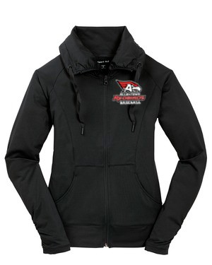 AHS Baseball - Ladies Sport-Wick® Stretch Full-Zip Embroidered Jacket