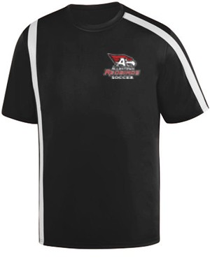 AHS Boys Soccer - Short Sleeve Moisture Wick Attacking Jersey with Logo