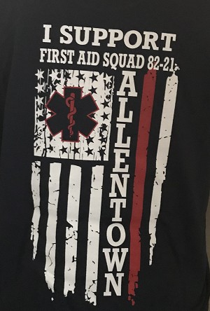Allentown First Aid - Long Sleeve Tshirt