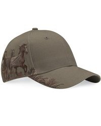 Wildlife Mustang Hat- Earth