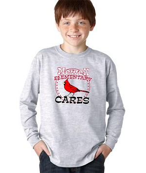 Newell CARES apparel- Long sleeve t-shirt