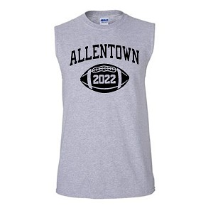 Allentown Football Sleeveless tee