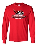 AHS Baseball - Long Sleeve T-shirt with Logo (2 Colors Available)