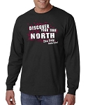 SBMS Spiritwear - Stone Bridge Middle School Discover Your True North Long SleeveT-shirt
