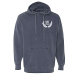Buddy Love Merch - Comfort Colors Washed Hooded Sweatshirt