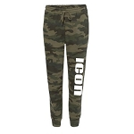 ICON DANCE - Independent Trading Camo Midweight Fleece Pants