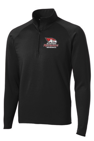 Sport-Tek® Sport-Wick® Stretch 1/2-Zip Pullover with 2 color logo